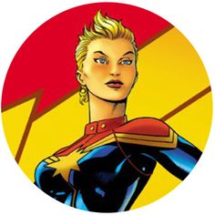These images have popped up online featuring what looks to be promo art for the Captain Marvel movie. Check out Carol Danvers (Brie Larson) and a young Nick Fury (Samuel […] Female Superhero, Best Superhero, Superhero Movies, Films Marvel, Marvel Heroines, Captain Marvel, Comic Book Characters, Comic Character, Comic Books