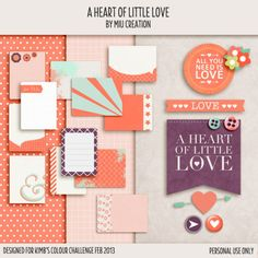 Freebie: 12 Journaling cards with papers and other elements by Miu Creation
