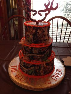 Realtree Wedding Cake