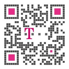 QR code: T-Mobile. Created by iQR codes.