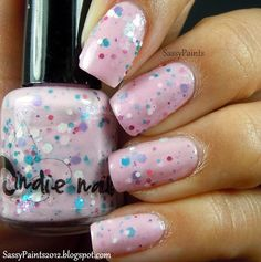 Jindie Nails Strawberry Cupcake, BN, full size, $8, SOLD