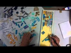 Polymer Clay Tile Mosaic -- Patti Tolley Parrish -- Inky Obsessions  ~ Polymer Clay Tutorials