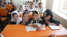 Afghan schoolchildren. Photo by RFE/RL