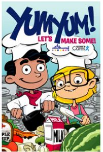 FREE Yum, Yum Let's Make Some Cookbook for Kids on http://hunt4freebies.com