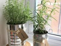 Keukentip! #kruiden #keuken #conservenblik #karelhendriksen #tuincentrum #KH_TC