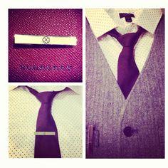 Tie clip by Cristina Fernández ... Men's fashion