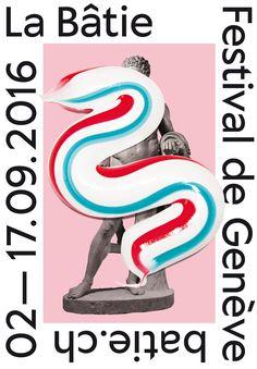 La Bâtie 2016 Genève #festival #affiche #affichefestival…