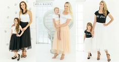 Shop matching custom-made fashion from Mila Raine and get delivery direct to your door!