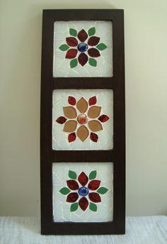 Mosaic Tile Art, Mosaic Crafts, Mosaic Glass, Mosaic Windows, Mosaic Furniture, Cd Art, Mosaic Garden, Decoupage Paper, Painting Lessons
