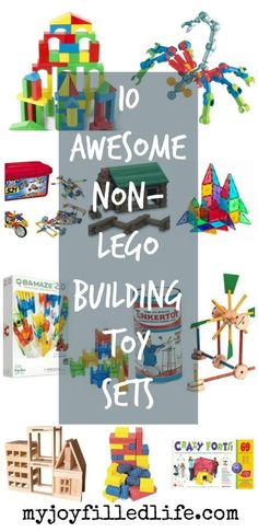 10 Awesome Non-LEGO Building Toy Sets - fun alternative to LEGOs for toddlers