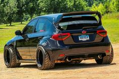#Widebody #Subaru #Impreza #Hatch!