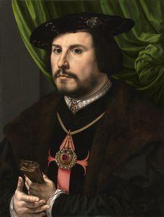 https://flic.kr/p/hKPwuo   Portrait of Francisco de los Cobos y Molina   c. 1530-1532. Oil on panel. 43,8 x 33,7 cm. The J. Paul Getty Museum, Los Angeles. 88.PB.43.