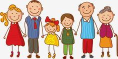 Image result for child drawing extended family