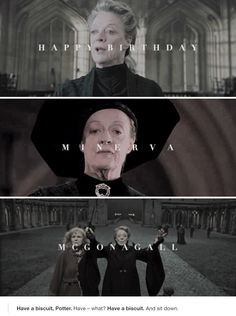 Happy Birthday to Professor Minerva McGonagall! (4th October, 1935)