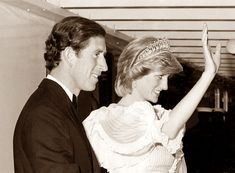 June 15, 1983:  Prince Charles & Princess Diana aboard Bittania during their visit to Halifax as they depart for Shelburne on Nova Scotia's south shore.  (Day 2)