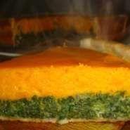 Tarta de calabaza y espinacas