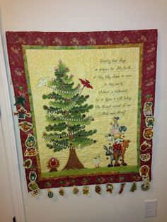 Christmas quilt for Taylor.