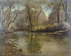 Albert Bierstadt, Yosemite Valley, California Fine Art Reproduction Oil Painting