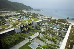 Green Intercontinental Resort in Sanya, Hainan, China by WOHA