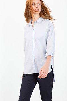 Esprit - Overhemdblouse van 100% katoen kopen in de online shop