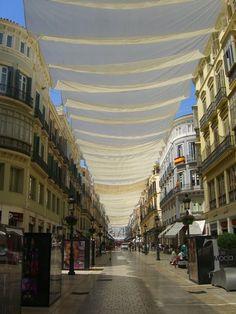 Málaga (old) town centre, Andalucía, Spain