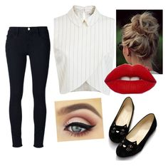 """""""Untitled #70"""" by daishiataylor on Polyvore featuring Frame Denim and Miss Selfridge"""