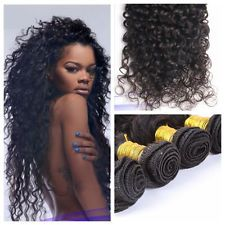 8''-30'' 50g/Bundle 100% Virgin Brazilian Human Hair Deep Wave Weave Extensions $10.99 to $30.99