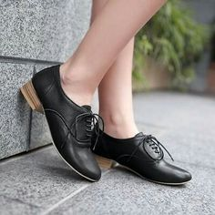 2016 Fashion Womens Mary Janes Block Mid Heel Lace Up Pumps Oxford Casual Shoes Brogues, Loafers, Women Oxford Shoes, Pumps, Heels, Casual Shoes, Lace Up, Fancy, Flats