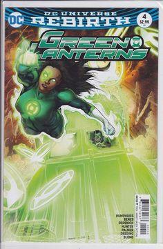 Green Lanterns #4 DC Comics 2016 Rebirth Corp   Collectibles, Comics, Modern Age (1992-Now)   eBay!