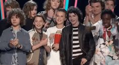 New party member! Tags: 2017 mtv movie and tv awards stranger things cast