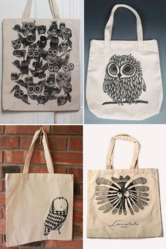 My Owl Barn: Collection: Owl Bags. All-Owl blog.