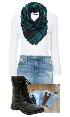 """""""Blanket Scarf"""" by jorge21 on Polyvore featuring Joseph, Current/Elliott, women's clothing, women's fashion, women, female, woman, misses and juniors"""