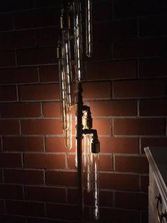 NEW  Handmade Steampunk Industrial Metal Retro Copper Pipe