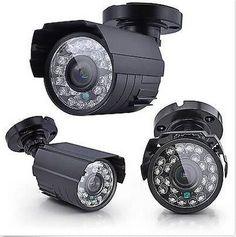1200TVL Waterproof Outdoor CCTV Security Camera IR Color Night Vision 3.6mm Lens Digital Guru Shop