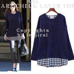 Today's Hot Pick :Double Layer Checkered Top http://fashionstylep.com/SFSELFAA0004653/dalphinsen1/out High quality Korean fashion direct from our design studio in South Korea! We offer competitive pricing and guaranteed quality products. If you have any questions about sizing feel free to contact us any time and we can provide detailed measurements.