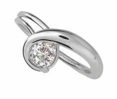 New Sterling Silver Engagement Rings -- Under $800 (Really!): FROM ED LEVIN . . .