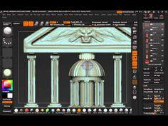 Atelier 21 - Aperçu - Environment Sculpting avec ZBrush - YouTube