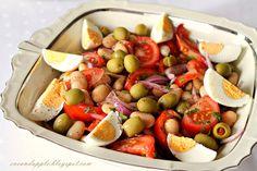 Cobb Salad, Apple, Dinner, Fruit, Food, Apple Fruit, Dining, Food Dinners, Essen