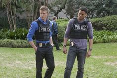 Warren Kole and Michael Ealy as Wes and Travis in Common Law