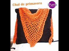 Videotutorial: Aprende punto de red paso a paso (crochet) y haz un chal, My Crafts and DIY Projects