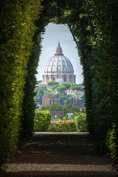 St Peter's through a Keyhole, Rome
