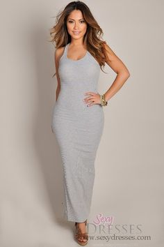 So Simple yet so Seductive. Maxi Dress $14 Also comes in black, green, and red.