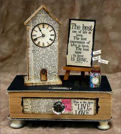 Club Scrap Creates: Clock Tower Workshop - by Kay Williamson