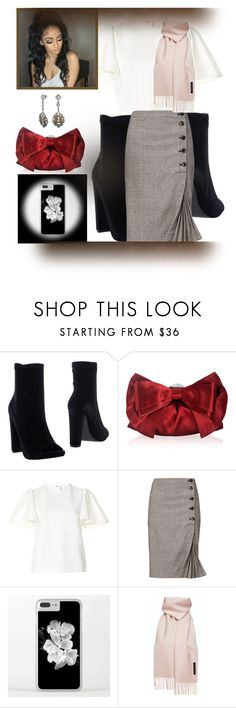 """""""Untitled #661"""" by izzystarsparkle ❤ liked on Polyvore featuring Steve Madden, Judith Leiber, MSGM, Banana Republic and Bling Jewelry"""