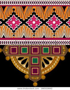 Find Digital Textile Design Ornament Pattern stock images in HD and millions of other royalty-free stock photos, illustrations and vectors in the Shutterstock collection. Islamic Art Pattern, Arabic Pattern, Flower Pattern Design, Pattern Art, Ornament Pattern, Flower Art Images, Boarder Designs, Paisley Art, African Crafts