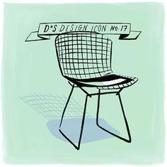 Design Icon: Bertoia Side Chair