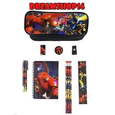 Disneys Big Hero 6 Stationery 10pc Set >>> You can get additional details at the image link.