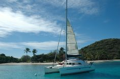 This is on of our Catamaras for this winter. Come to sail with us! escaleyachting.com