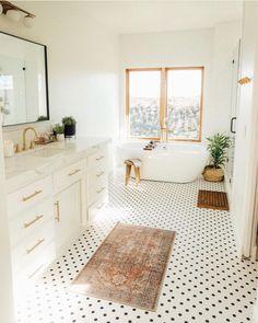 Large Modern Wall floating Mirror Bathroom Vanity Decorative Industrial Rectangl… - Home Design World Home Design, Flur Design, Design Ideas, Bath Design, Design Design, Design Trends, Design Concepts, Bad Inspiration, Bathroom Inspiration
