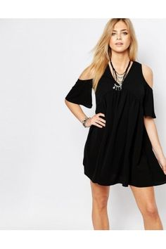 Vestidos Casual de mujer hombros descubiertos ¡Compara 34 productos y compra  ahora al mejor precio! 90b231e2e6e